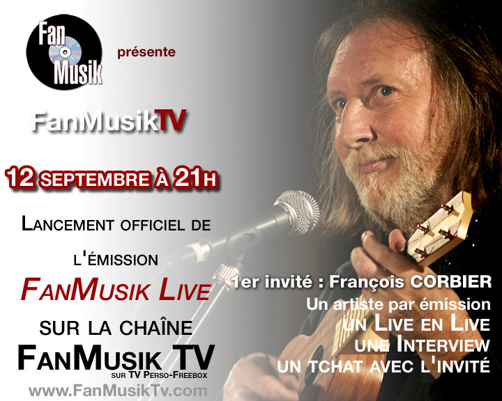 FanMusik TV : Emission FanMusik Live, Lancement le 12 septembre 2007